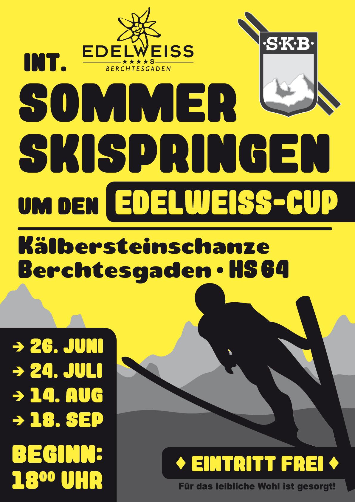 Plakat EdelweissCup
